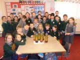 Ms. Shannon's 3rd Class make Lava Lamps