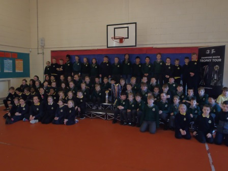 Rugby Champions Cups visit St. Joseph's